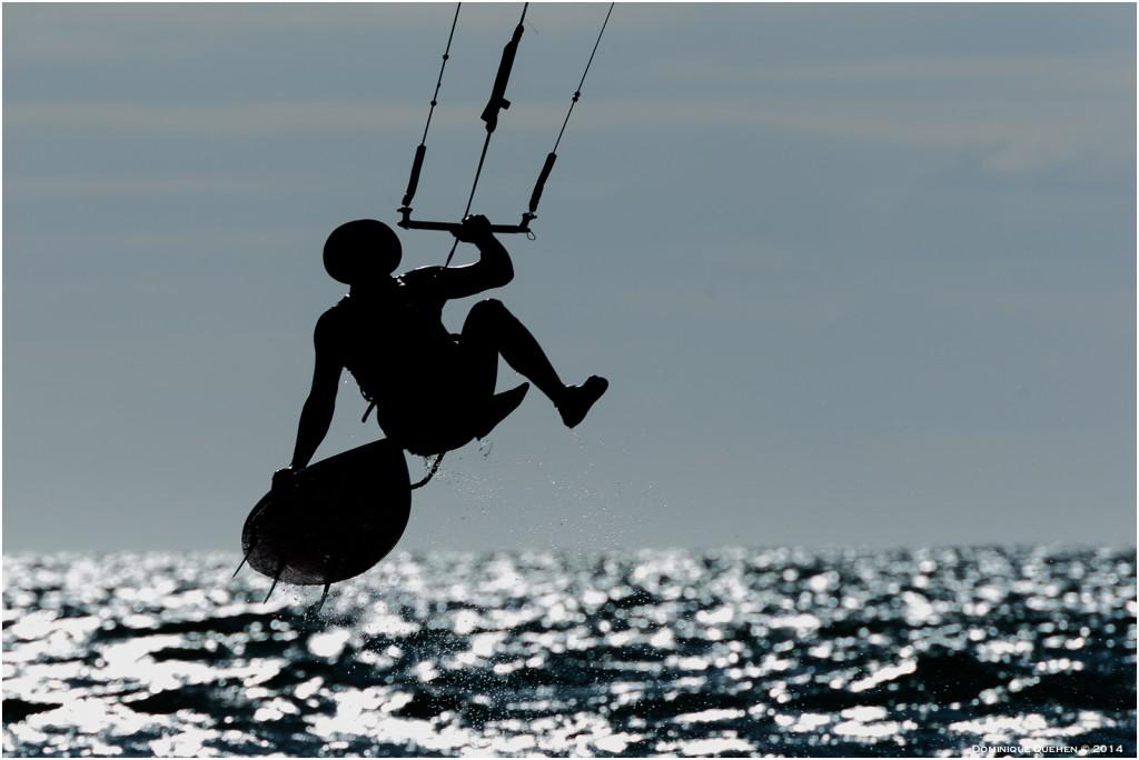 Kite surf en camargue